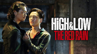 HiGH&LOW THE RED RAIN