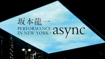 坂本龍一 PERFORMANCE IN NEW YORK: async